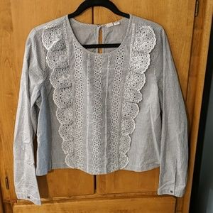 Long Sleeve Peasant Shirt